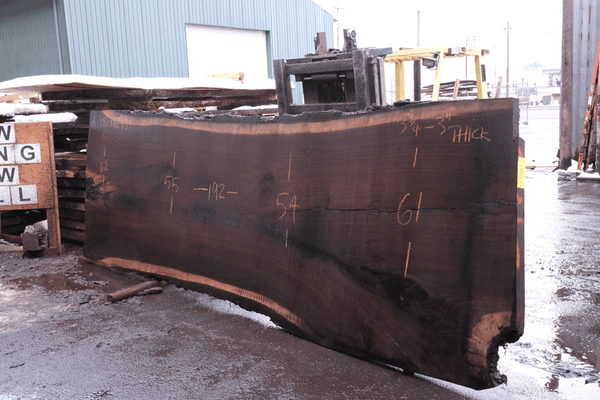 Oregon Black Walnut Slab 022118-13