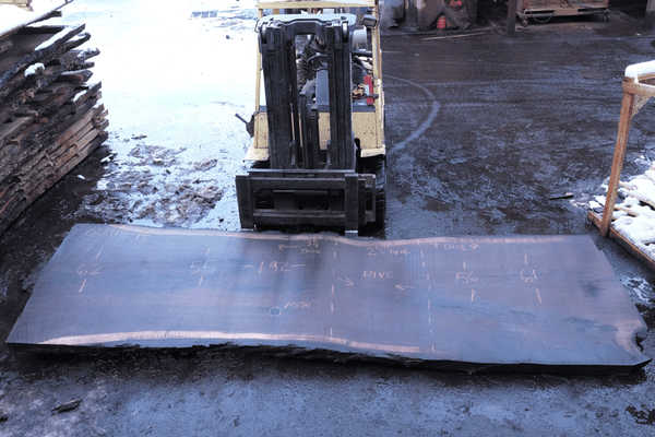 Oregon Black Walnut Slab 022118-14