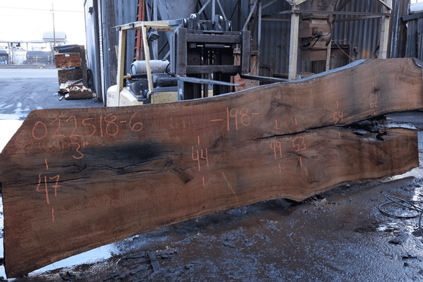 Oregon White Oak Slab 022518-06