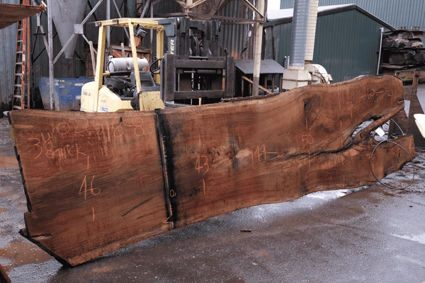 Oregon White Oak Slab 022518-08
