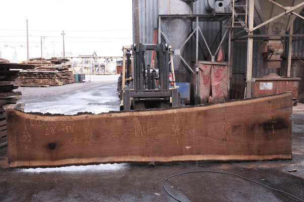 Oregon White Oak Slab 022718-02