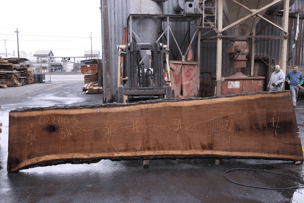 Oregon White Oak Slab 022718-03