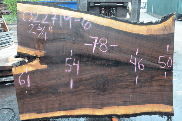 022719-06 Oregon Black Walnut Slab
