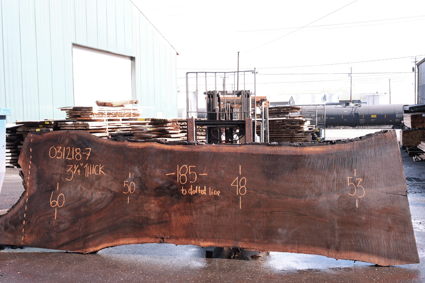 Oregon Black Walnut 031218-07