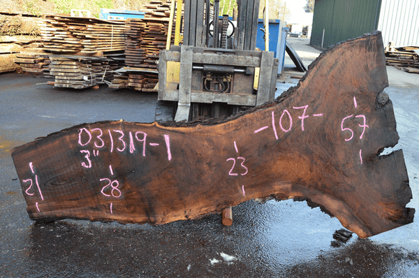 031319-01 Oregon Black Walnut Slab