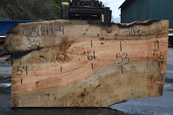 031819-04 Big Leaf Maple Slab