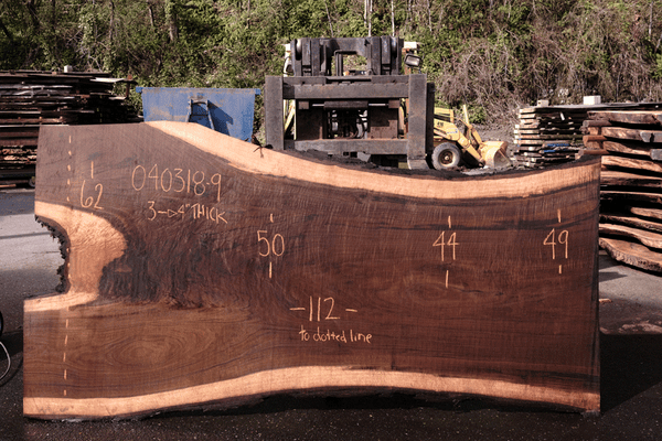 Oregon Black Walnut Slab 040318-09