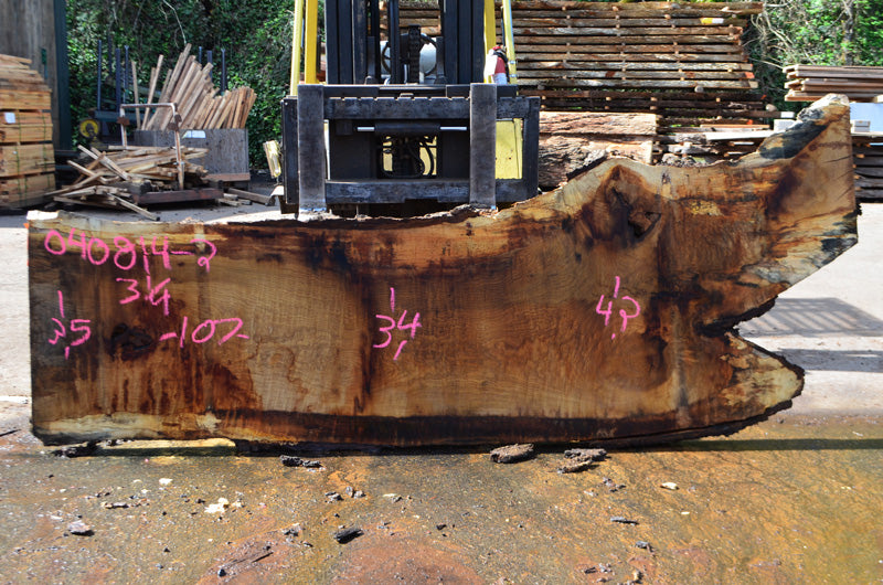 Oregon White Oak Slab 040814-02