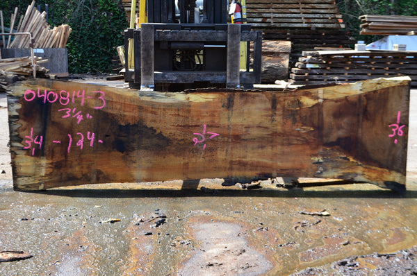 Oregon White Oak Slab 040814-03