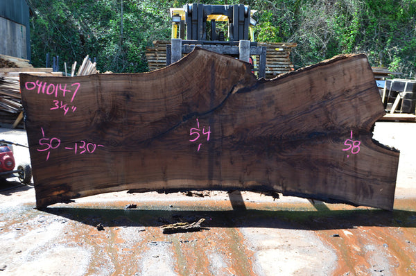 Oregon Black Walnut Slab 041014-07
