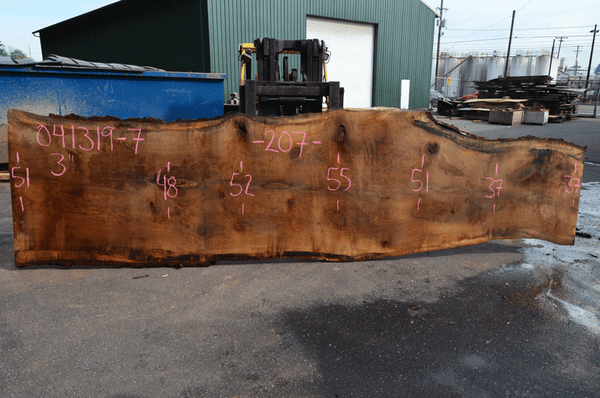 041319-07 Oregon White Oak Slab