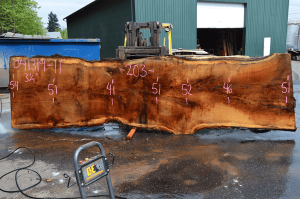 041319-11 Oregon White Oak Slab