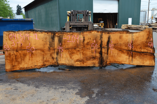 041319-12 Oregon White Oak Slab