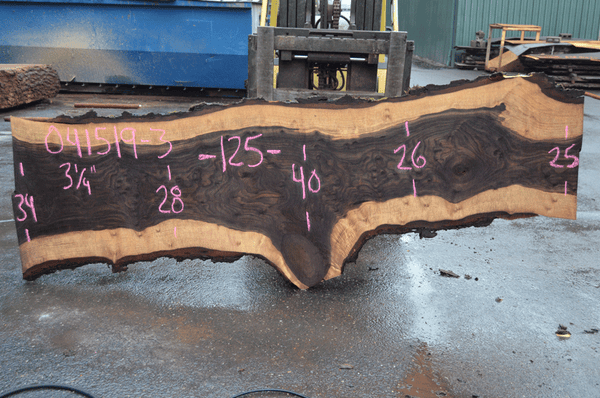 041519-03 Oregon Black Walnut Slab