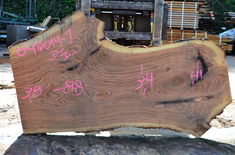 Oregon White Oak Slab 042014-01