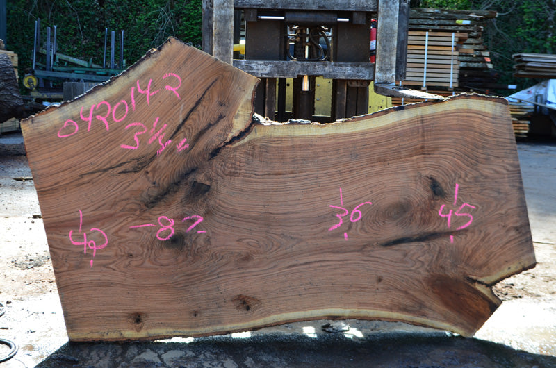 Oregon White Oak Slab 042014-02