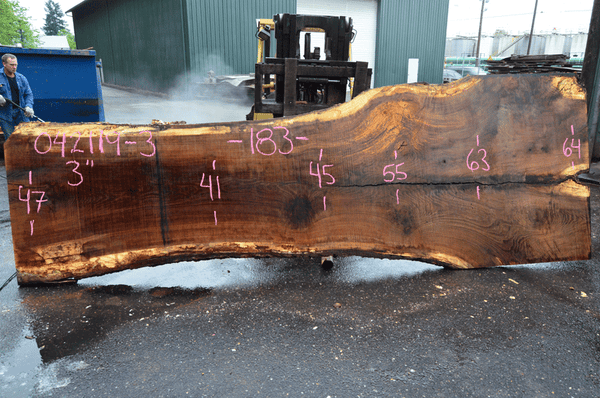 042119-03 Oregon White Oak Slab
