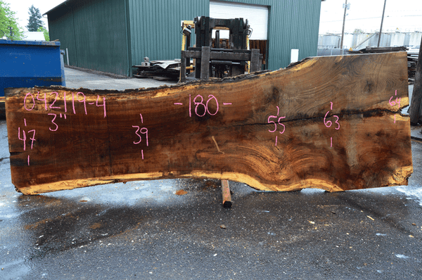 042119-04 Oregon White Oak Slab