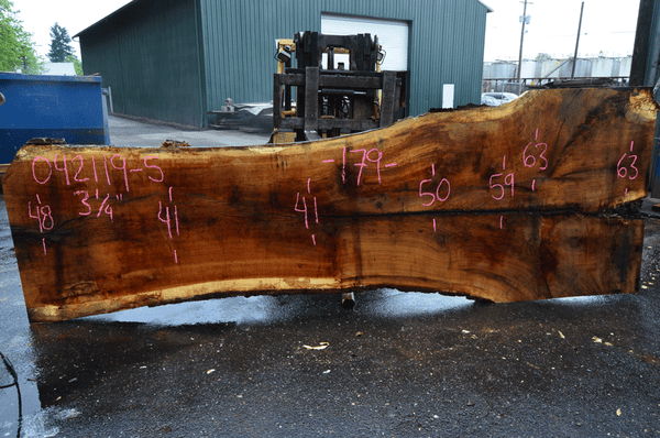 042119-05 Oregon White Oak Slab