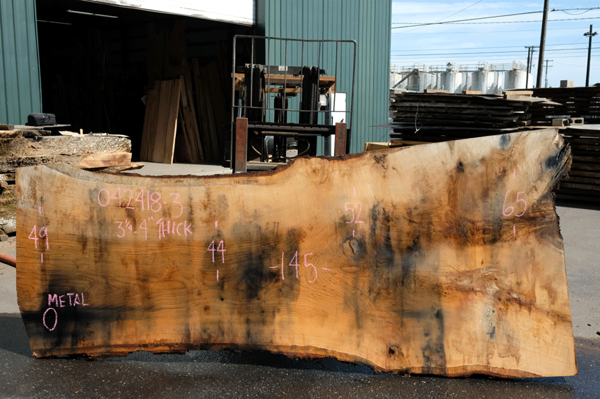 Oregon White Oak Slab 042418-03