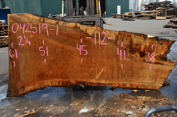 042519-01 Oregon White Oak Slab