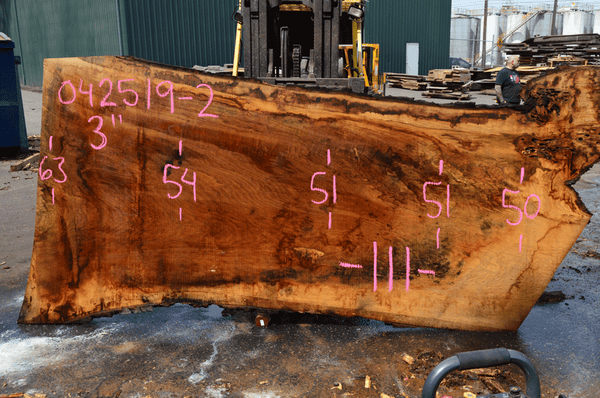 042519-02 Oregon White Oak Slab
