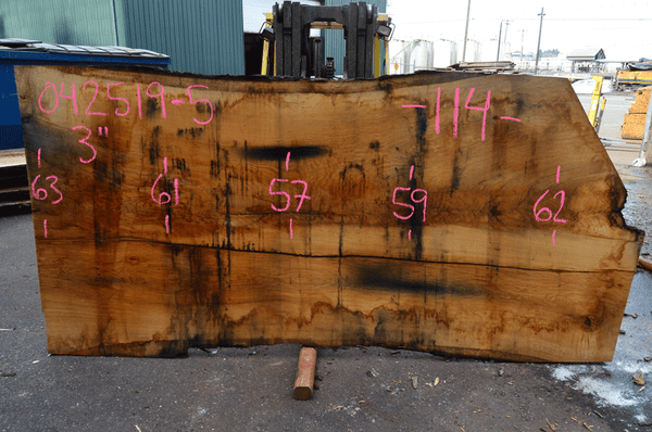 042519-05 Oregon White Oak Slab