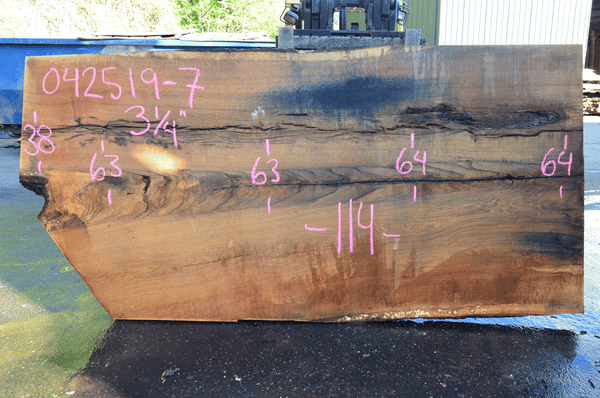042519-07 Oregon White Oak Slab