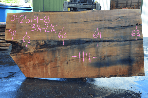 042519-08 Oregon White Oak Slab