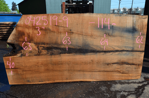 042519-09 Oregon White Oak Slab