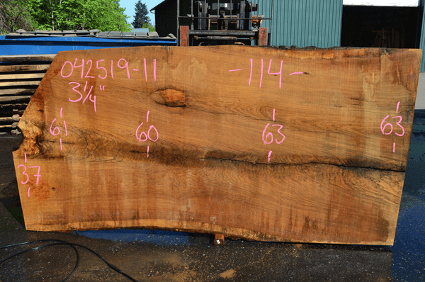 042519-11 Oregon White Oak Slab