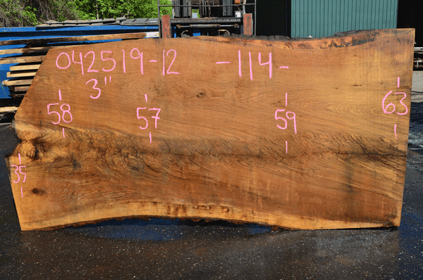 042519-12 Oregon White Oak Slab