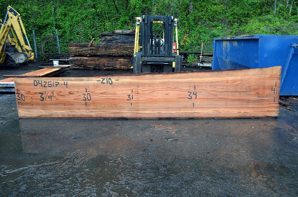Oregon Redwood Slab 042617-04