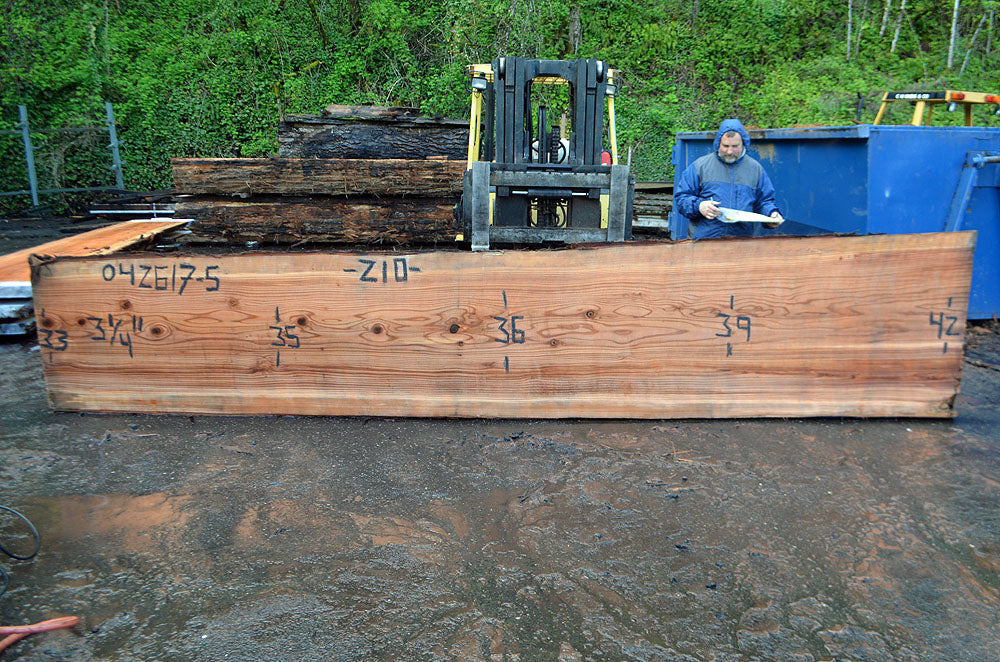 Oregon Redwood Slab 042617-06
