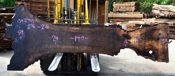 English Walnut Slab 042713-01