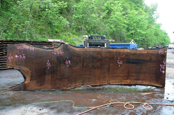 Oregon Black Walnut Slab 050417-14