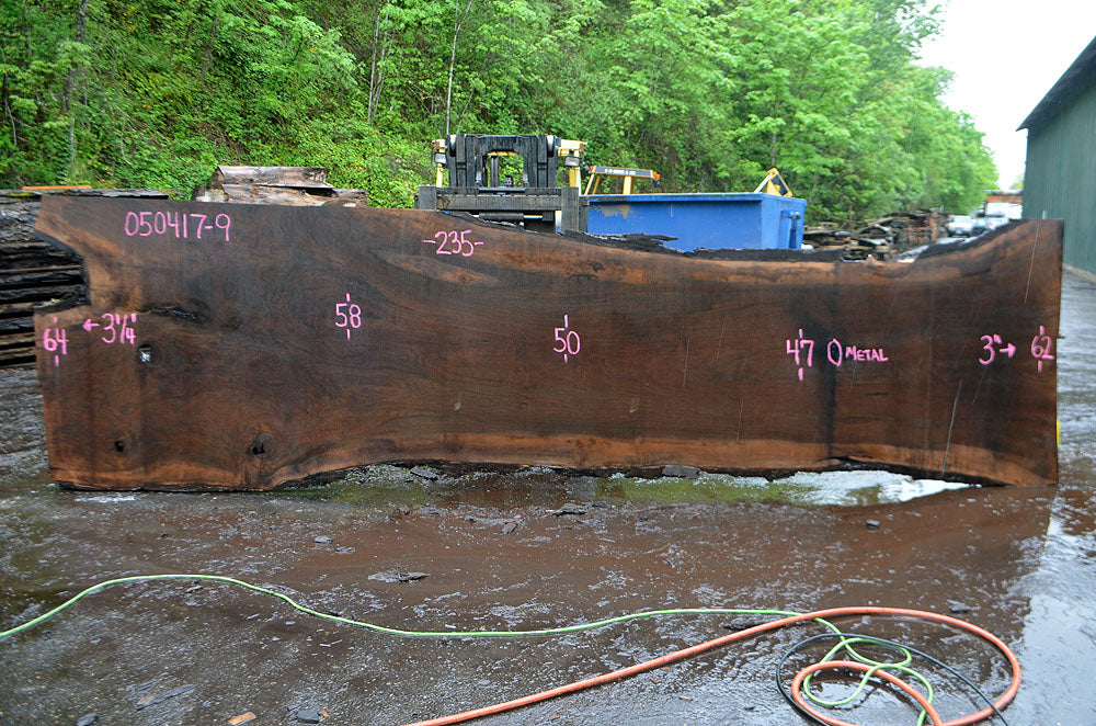 Oregon Black Walnut Slab 050417-09