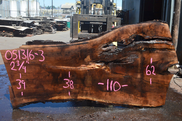 Oregon Black Walnut Slab 051316-03