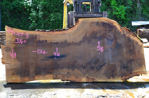 Oregon White Oak Slab 051715-03