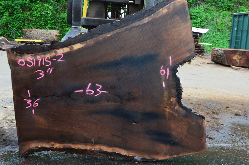 Oregon Black Walnut Slab 051915-02