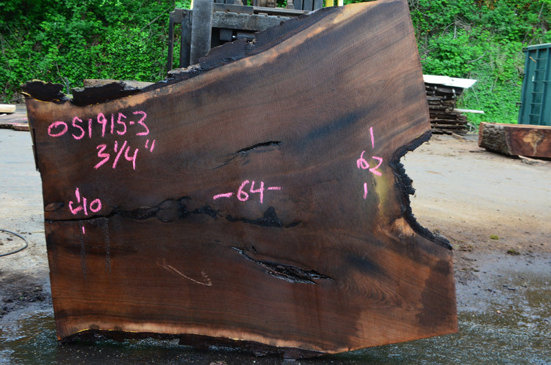 Oregon Black Walnut Slab 051915-03