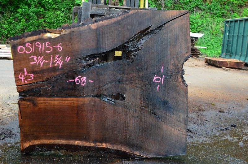 Oregon Black Walnut Slab 051915-06