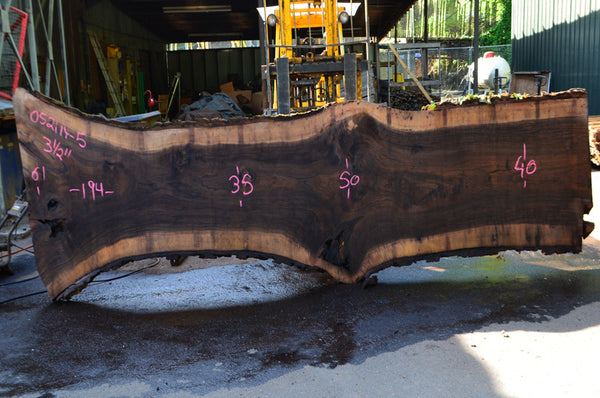 Oregon Black Walnut Slab 052114-05