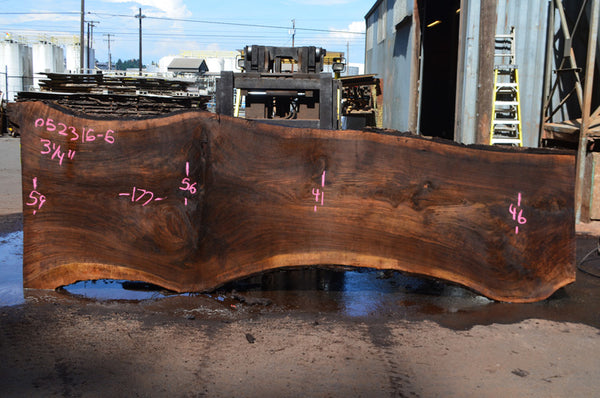 Oregon Black Walnut Slab 052315-05
