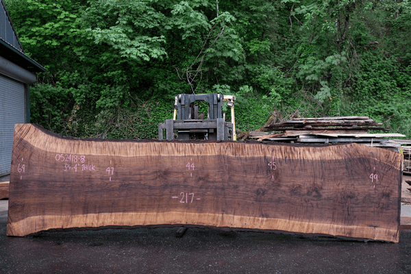 Oregon Black Walnut Slab 052418-08