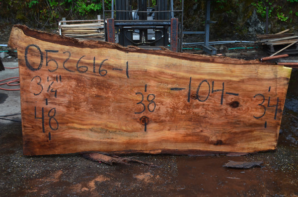 Oregon Redwood Slab 052616-01