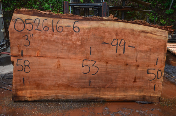 Oregon Redwood Slab 052616-06