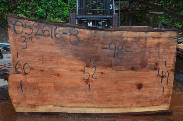 Oregon Redwood Slab 052616-08