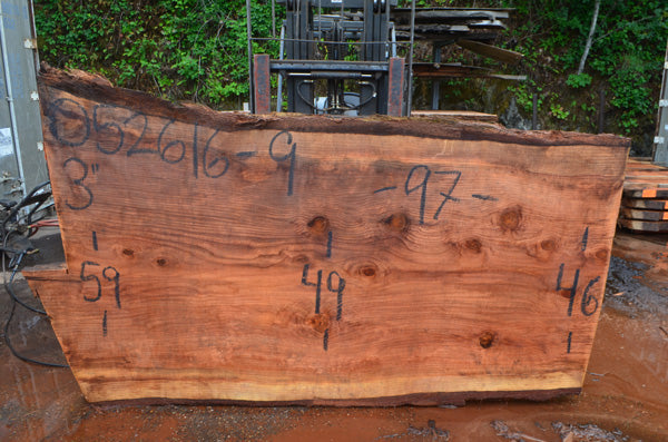 Oregon Redwood Slab 052616-09