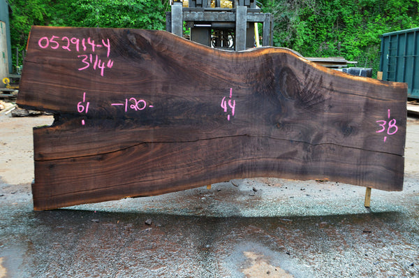 Oregon Black Walnut Slab 052914-04